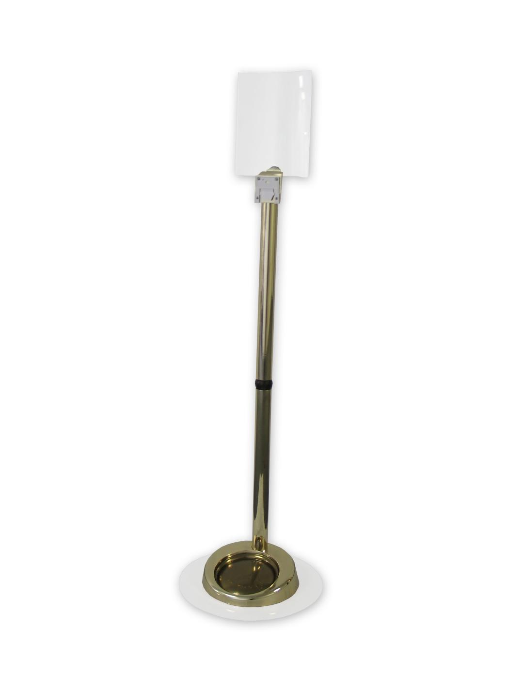 G1 Premium Bodenständer EXTRA (gold)