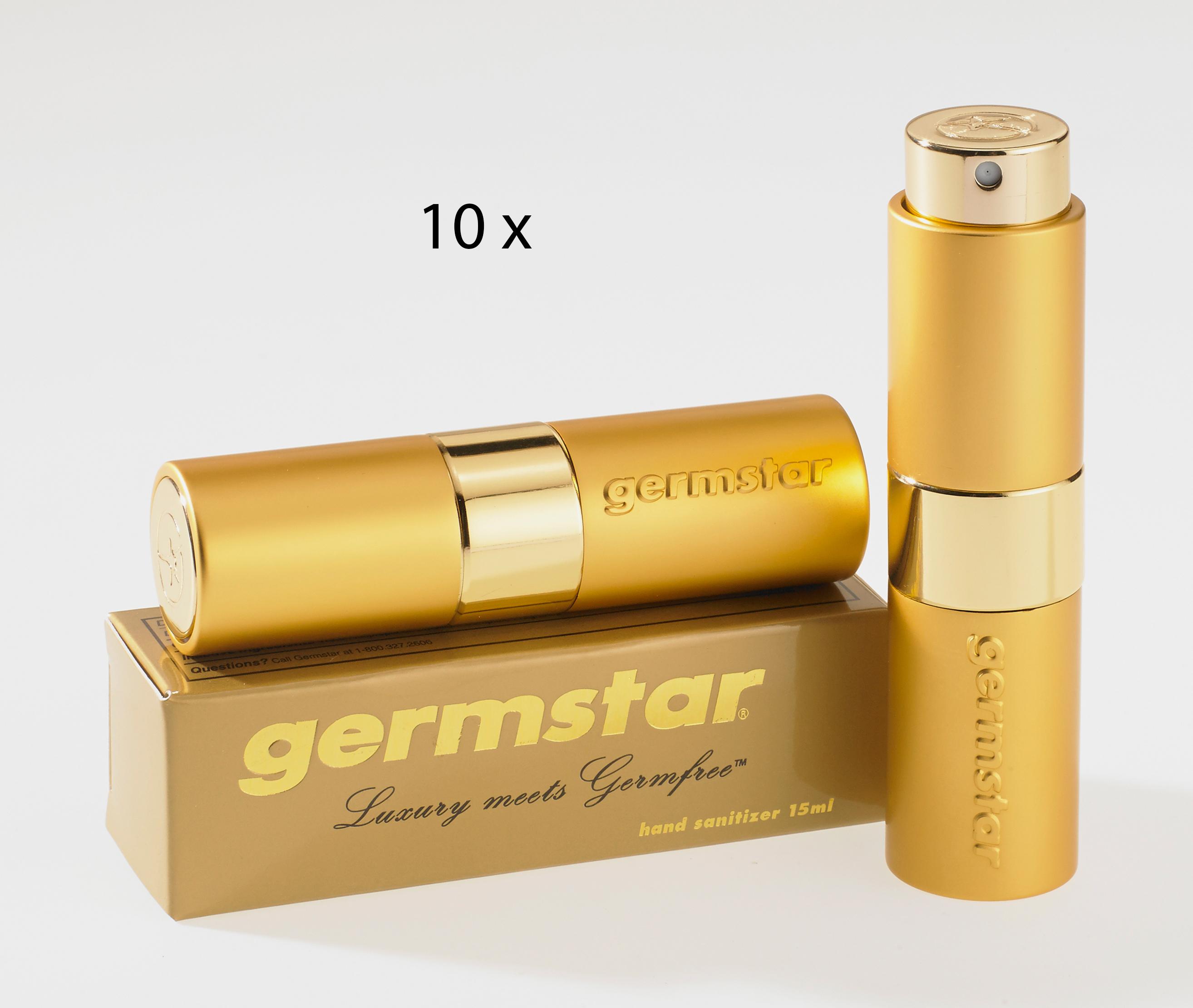 Luxe GOLD Spray (10) 10 Handspray à 15ml, Duft AQUA (UNISEX)
