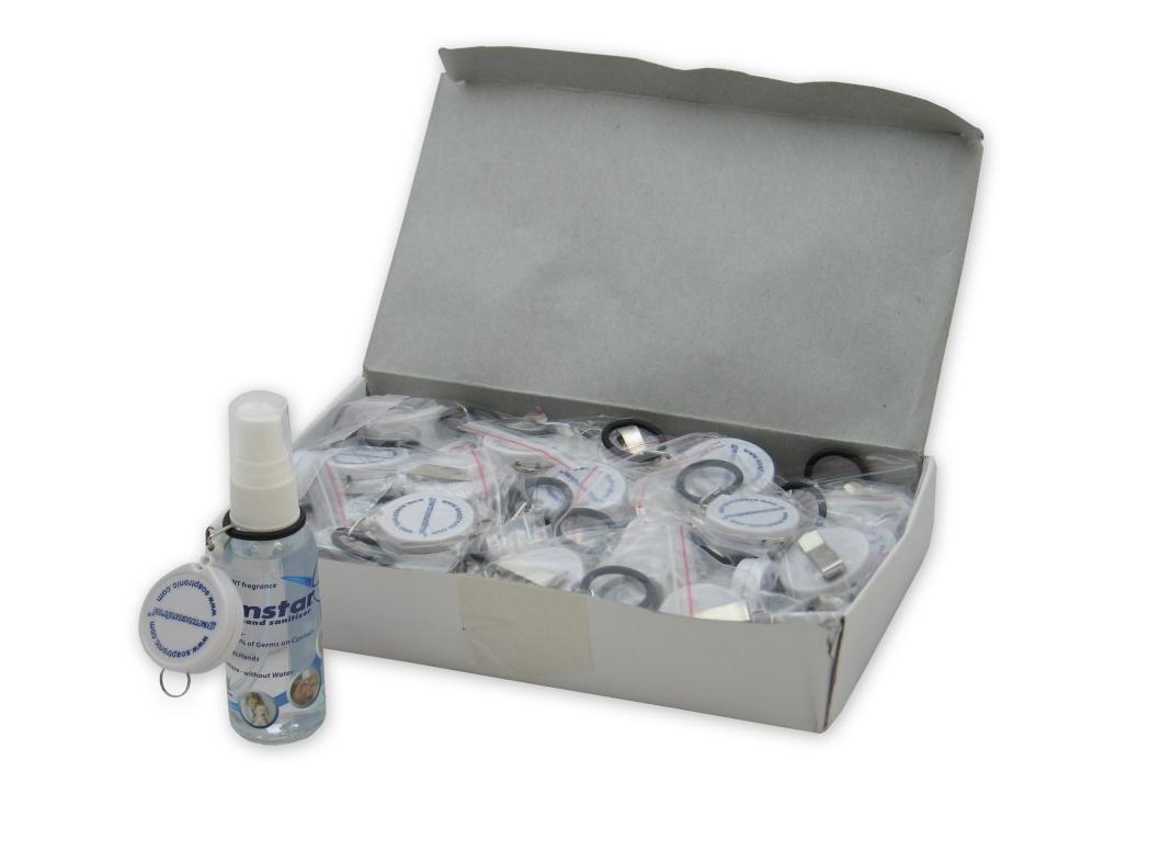 Gürtelclip (weiss) zu 59ml Sprayflasche (50)